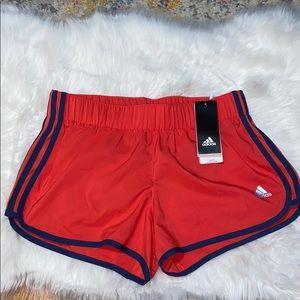 "Adidas M10 Woven Short S3"" Running Shorts"